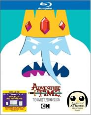 Adventure Time: Season One and Two on Blu-ray and DVD