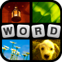 Product Image. Title: 4 Pics 1 Word Puzzle