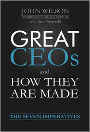 John Wilson - Great CEOs and How They Are Made