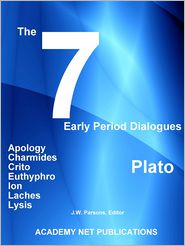 J.W. Parsons - Plato's 7 Early Period Dialogues