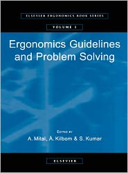 9780080531229 - A. Mital (Editor), S. Kumar (Editor), Å. Kilbom (Editor): Ergonomics Guidelines and Problem Solving - Livre