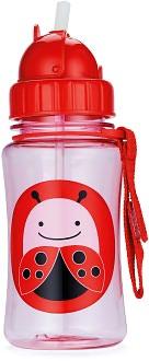 Zoo straw bottle - Ladybug