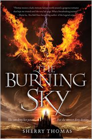 The buring Sky