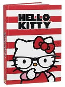 "Product Image. Title: Hello Kitty Nerd Iconic Bound Sketchbook 8"" x 11.25"""