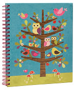 "Product Image. Title: Woodland Critters Sketchbook 9"" x 11"""