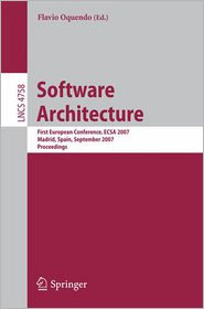 Software Architecture: First European C...