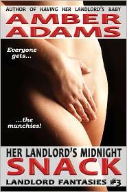 Amber Adams - Her Landlord's Midnight Snack (Menage - Older Man Fantasies)