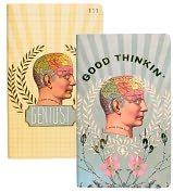 "Product Image. Title: Good Thinkin Sketch & Scribble Notebook Set 8"" x 5"""