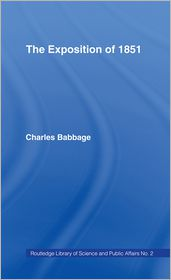 Charles Babbage - Exposition of 1851
