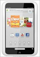 NOOK HD Tablet Snow 8GB by Barnes & Noble: Reader Cover