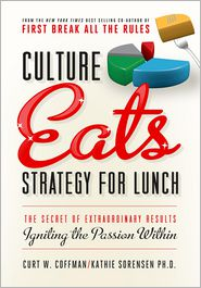 Kathie Sorensen Curt Coffman - Culture Eats Strategy for Lunch: The Secret of Extraordinary Results, Igniting the Passion Within