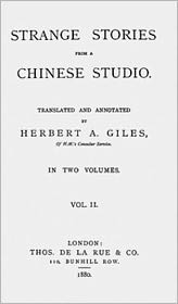 Songling Pu - Strange Stories from a Chinese Studio vol. II (of 2)