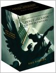 Book Cover Image. Title: Percy Jackson and the Olympians 5-Book Boxed Set, Author: by Rick Riordan
