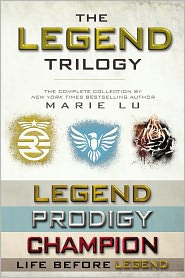 Marie Lu - The Legend Trilogy Collection