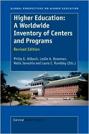Higher Education: A Worldwide Inventory...
