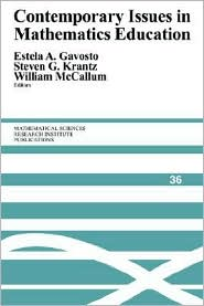 Contemporary Issues in Mathematics Educ...