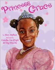 Princess Grace by Mary Hoffman: Book Cover