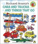 Cars and Trucks and Things That Go by Richard Scarry: Book Cover