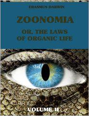 Erasmus Darwin zoonomia pdf