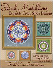 Floral Medallions Exquisite Cross Stitch designs: Five Desig