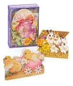 Product Image. Title: Ephemera Easter Boxed Notecards - Set of 24