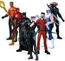 DC 52 SUPERHEROES VS SUPER VILLAINS AF 7 PACK: Product Image