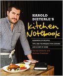 Harold Dieterle's Kitchen Notebook