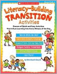 Book Cover Image. Title: Literacy-Building Transition Activities, Author: by Ellen Booth Church
