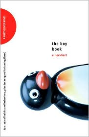 The Boy Book by E. Lockhart: Book Cover