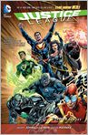 Book Cover Image. Title: Justice League Vol. 5:  Forever Heroes (The New 52), Author: by Geoff Johns