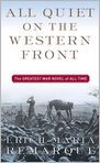 Book Cover Image. Title: All Quiet on the Western Front, Author: by Erich Maria Remarque