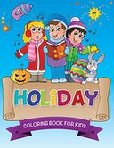Holiday Coloring Book For Kids