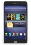 "Samsung Galaxy Tab 4 NOOK 7"" Black by Barnes & Noble: Reader Cover"