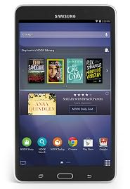 "Samsung Galaxy Tab 4 NOOK 7"" Black"