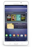 "Samsung Galaxy Tab 4 NOOK 7"" White by Barnes & Noble: Reader Cover"