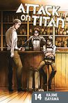 Book Cover Image. Title: Attack on Titan 14, Author: by Hajime Isayama