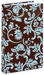 Product Image. Title: Blue & Chocolate Gramercy Vines Journal 5x8