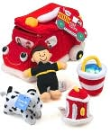 Product Image. Title: Fire Truck Playset