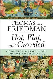 Hot, Flat, and Crowded by Thomas L. Friedman: Book Cover