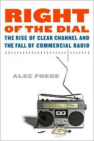 Right of the Dial by Alec Foege: Book Cover