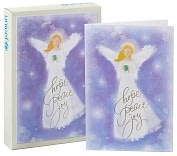Product Image. Title: Unicef Purple Angel Christmas Boxed Cards