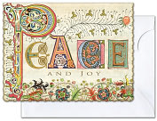 Product Image. Title: Peace and Joy Christmas Boxed Cards