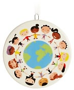 Product Image. Title: Unicef Kids Around Globe Ornament