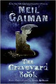 Graveyard Book by Neil Gaiman: Book Cover