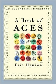 A Book of Ages by Eric Hanson: Book Cover