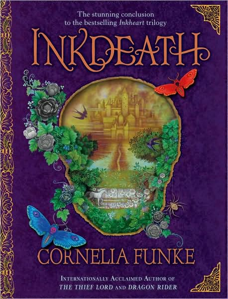 Inkdeath (Inkheart Trilogy #3) book cover