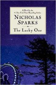 The Lucky One by Nicholas Sparks: Book Cover