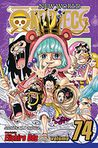 Book Cover Image. Title: One Piece, Volume 74, Author: by Eiichiro Oda