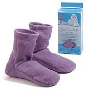 Product Image. Title: Spa Comforts Lavender Spa Socks