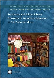 Textbooks and School Library Provision ...